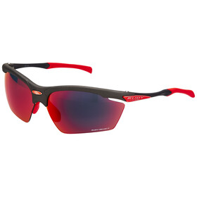 Rudy Project Agon Glasses Graphite/Multilaser Red